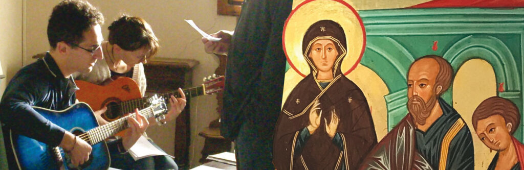 """""""Maestro insegnaci a pregare"""""""